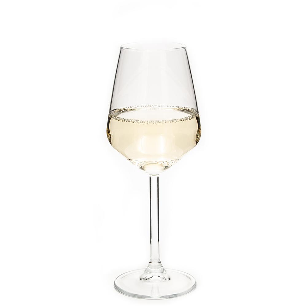 Wijn- en champagneglas